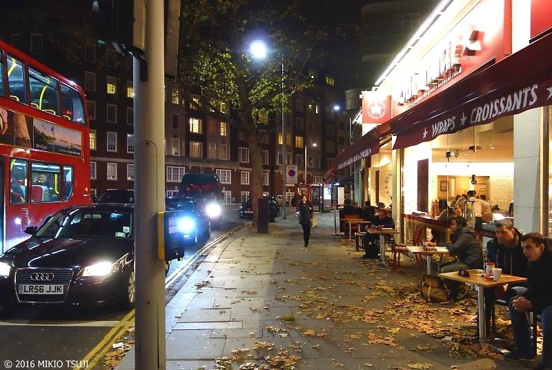 絶景探しの旅 - 0075 枯葉のオープンテラス (ロンドン・サウスケンジントン)V2