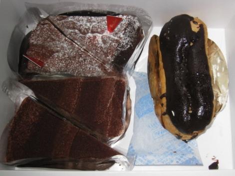 100円ケーキだお