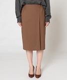 ウエストゴムラップタイトスカート