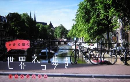 岩合光昭の世界ネコ歩き「アムステルダム」