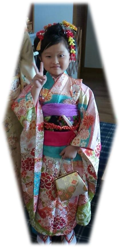 7歳 日本髪