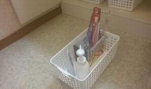 紙袋利用・洗面台下収納2