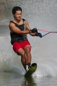 2016JCCW_Slalom 井澤健太朗選手(慶)#02