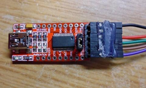 USB_シリアル変換基板