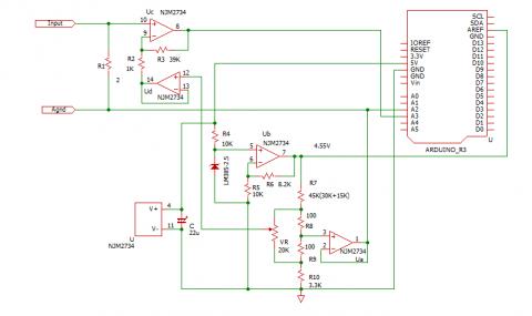 積算電流計回路