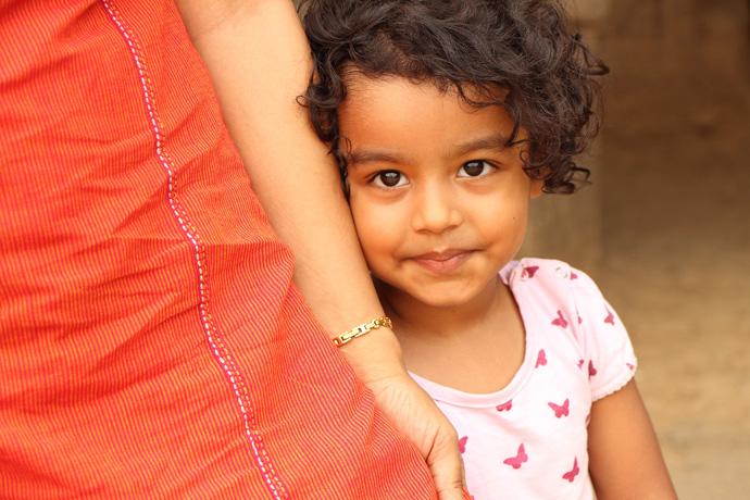 Indian Shy Girl
