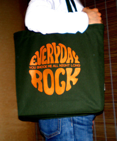 レコバッグ EverydayRock caricature T Shirt caricature