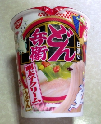 9/5発売 どん兵衛 明太子クリームうどん