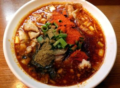 ひるドラ 鶴橋店 辛口炙り肉ソバ『醤油』