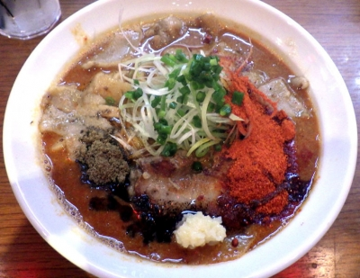 ひるドラ 鶴橋店 辛口炙り肉ソバ『味噌』