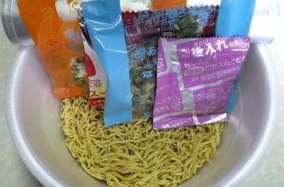 6/13発売 また食べたくなるラーメン 柚子香る塩味(2016年)(内容物)