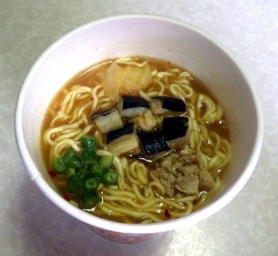 6/27発売 松屋監修 夏野菜入りトマトカレー味ラーメン(液体スープの入れ忘れ)