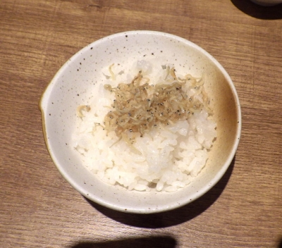 麺と心 7 鰯白湯つけ麺 ~自家製「平打ち麺」~(〆のじゃこご飯)