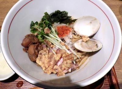 麺と心 7 魚貝味噌MAZESOBA ~貝出汁FEVER~