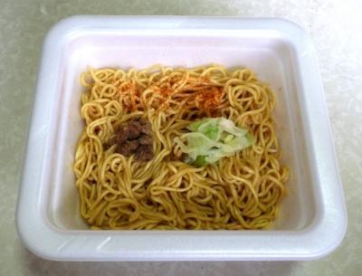 5/23発売 サッポロ一番 焼肉風味 みそラーメン味 焼ラーメン(できあがり)