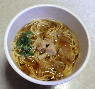 10/31発売 THE NOODLE TOKYO 播磨坂もりずみ 限定鶏醤油らぁ麺(できあがり)