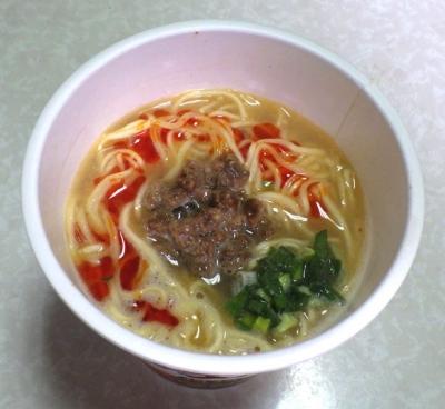 4/25発売 有名店シリーズ 鳴龍 担担麺(できあがり)