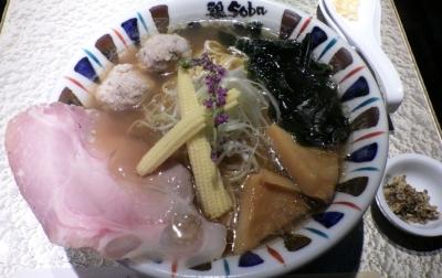 鶏Soba座銀 にぼし店 ボンゴレだし醤油 アサリのチカラ