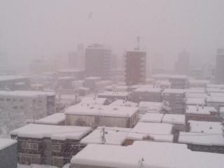 大雪積もる