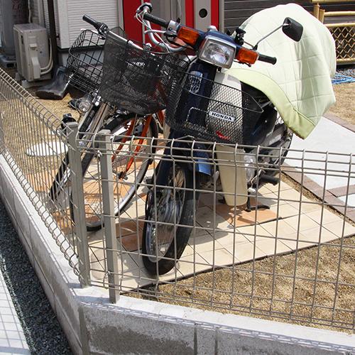 自転車置き場(サイクルポート)を作ってみた①