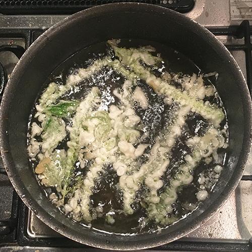 紫蘇の実(花)を美味しく食べる料理法③
