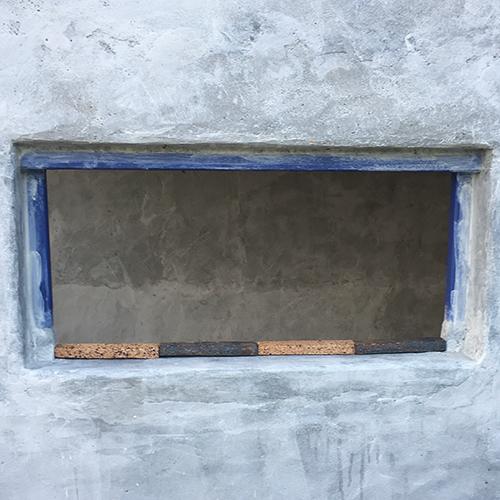 一人で作るブロック小屋⑪ ~コンクリート床を作る~⑦
