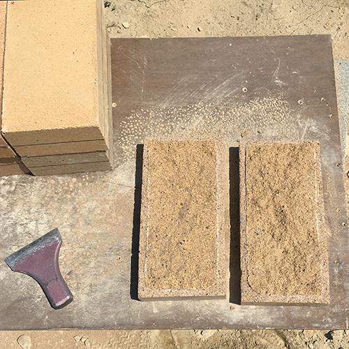 一人で作るブロック小屋⑪ ~コンクリート床を作る~⑩