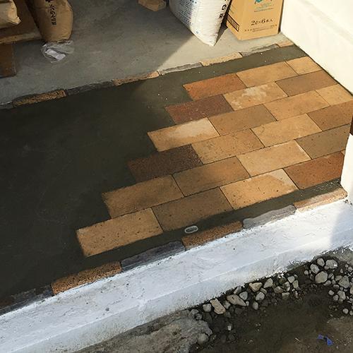 一人で作るブロック小屋⑪ ~コンクリート床を作る~⑫