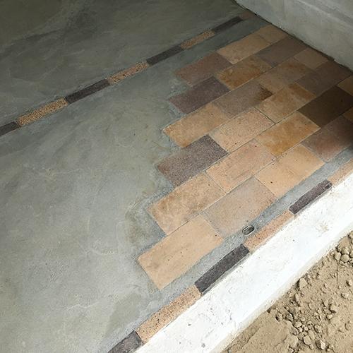 一人で作るブロック小屋⑪ ~コンクリート床を作る~⑬