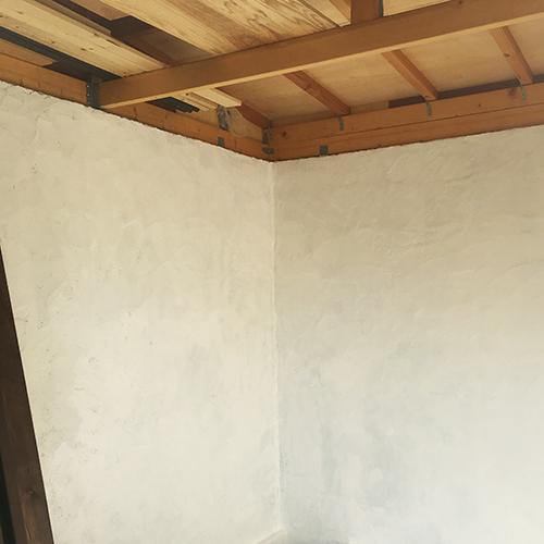 一人で作るブロック小屋⑫ ~換気口の取り付け~②