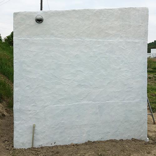 一人で作るブロック小屋⑫ ~換気口の取り付け~⑪