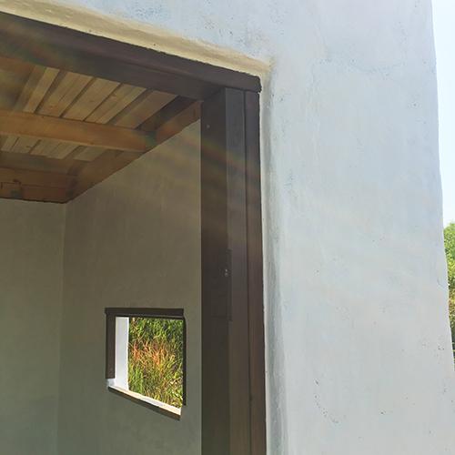 一人で作るブロック小屋⑬ ~蝶番・ノミ作業~⑫