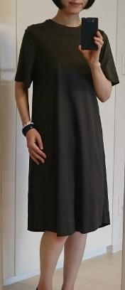 今季買ったワンピースとこの夏の色・アラフィフ・ファッション