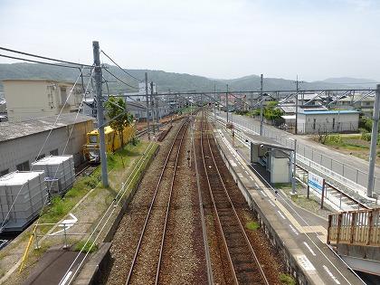 伊予市駅10