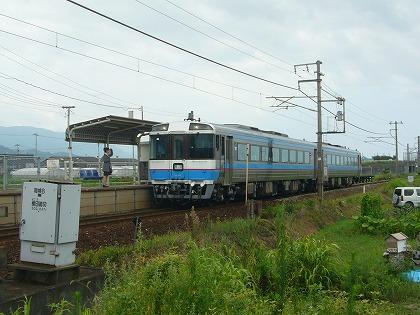 伊予市駅12