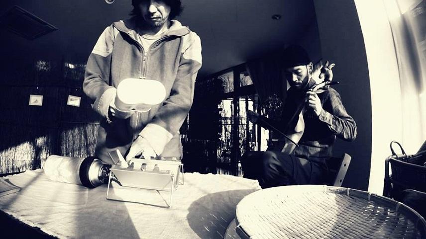 ハナププ珈琲焙煎ライブ