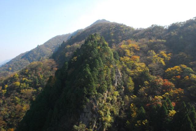 三岳_西の覗からの眺め