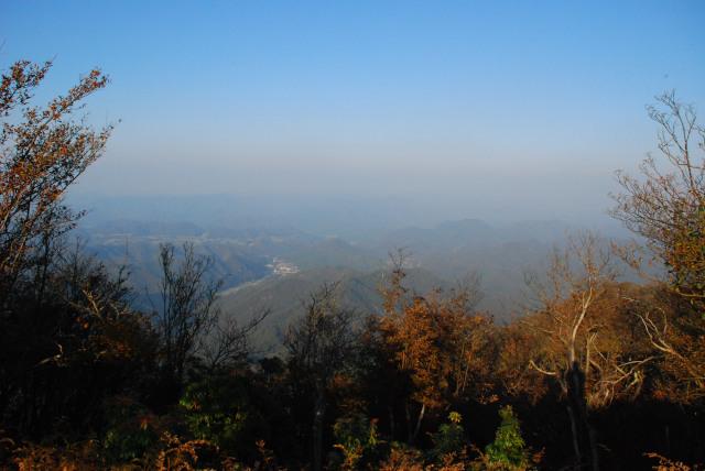三岳山頂からの眺め