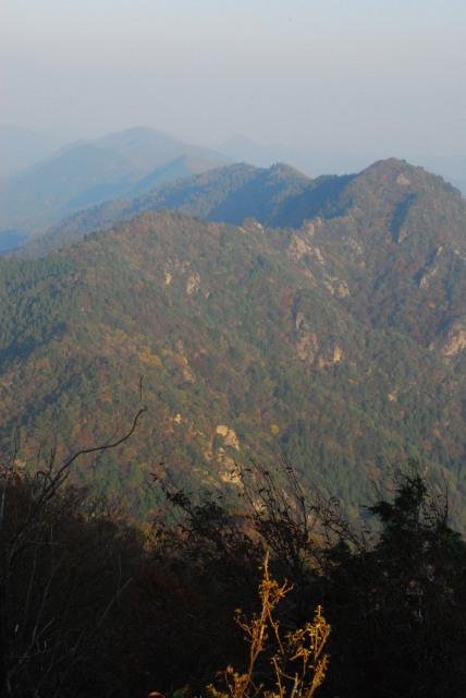 三岳登山道_小金ヶ嶽の稜線