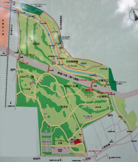 野川公園MAP