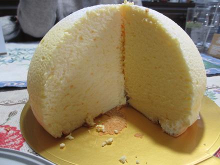 まんまるチーズスフレ