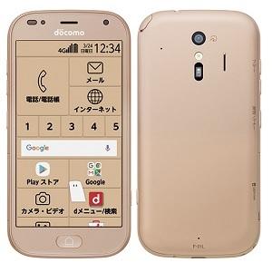 087_らくらくスマートフォン me F-01L_logo