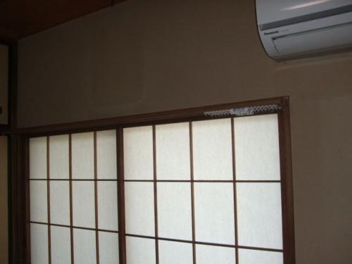 タチカワブラインド ファンティア ブラウン(木目)色