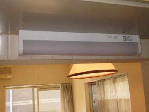 キッチン棚下灯