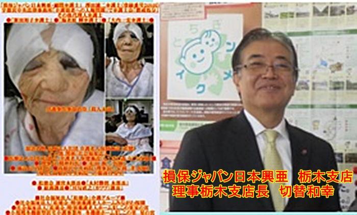 損保ジャパン日本興亜 栃木支店 切替和幸1