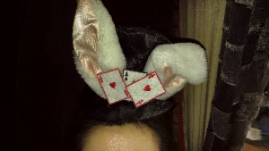 アリス帽子ウサギ