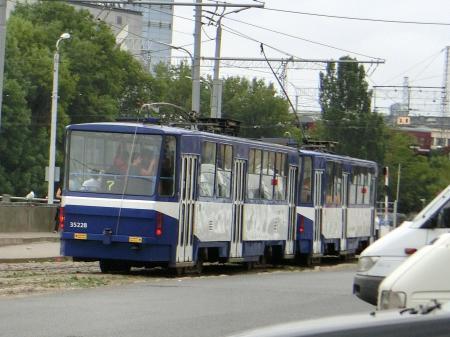 ラトビア トロリーバス