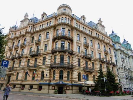 リガ ユーゲントシュティール建築群5