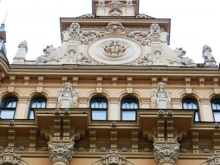 リガ ユーゲントシュティール建築群6