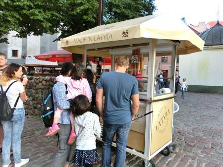 ラトビア産アイスクリーム1